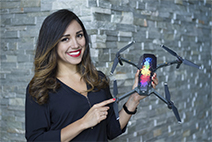 Elena Buenrostro (AirVūz Drone Video Awards judge)
